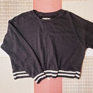 Mossimo Supply Co grey sweater Large Crew neck L